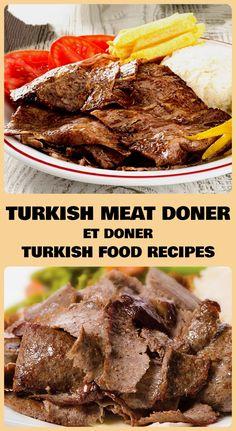 Turkish Doner, Turkish Kebab, Doner Kebab Recipe Turkish, Beef Steak Recipes, Kebab Recipes, Smoker Recipes, Turkish Recipes, Greek Recipes, Lebanese Recipes
