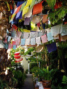 Prayer Flag Garden | Flickr - Photo Sharing!