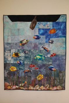 Under The Sea 3d, Turtle Outline, Sea Turtle Quilts, Fish Quilt, Turtle Pattern, Billie Holiday, Custom Quilts, Dust Mites, Blanket Sizes