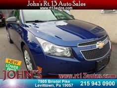First look!  2013 Chevrolet Cruze LS  just added to inventory!  http://p.dsscars.com/1G1PA5SG2D7109648