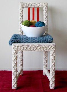Yarnbomb Your Own Furniture