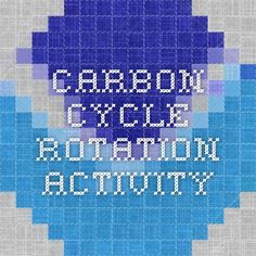 Carbon Cycle Rotation Activity Science Classroom, Teaching Science, Classroom Activities, Teaching Resources, Teaching Ideas, Classroom Ideas, 7th Grade Science, Stem Science, Earth Science