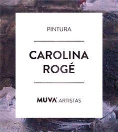 """Carolina Rogé nació en Mendoza en 1963 pero desde su adolescencia se radicó en Córdoba donde crea y expone su obra. Durante varios años residió en Francia y posteriormente en España nutriéndose y exponiendo varias de sus series de pinturas y dibujos. Actualmente da clases en su taller y expone regularmente en la galería de arte """"Cerrito"""" de la ciudad de Córdoba. #MUVAArtistas"""