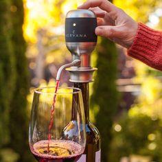 Aervana One-Touch Luxury Wine Aerator #aerator, #LuxuryGadgets, #wine