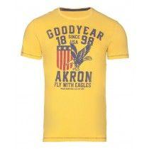 Goodyear Men Slim Fit T-Shirt Dallas (Warm Yellow) | 400127-4033