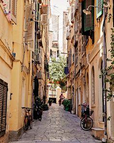 Corfu Street, Greece