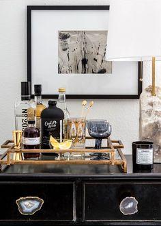stylish home bar