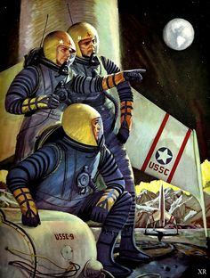 … the Army takes the Moon!