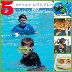 5 Summer Activities For Families