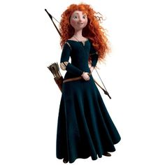 Roommates Rmk1937Gm Disney Brave Merida Peel And Stick Giant Wall... ($11) ❤ liked on Polyvore featuring home, children's room, children's decor, disney, brave and pictures