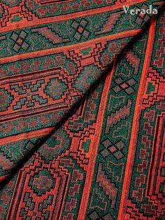 Thai gewebter Stoff Tribal Stoff Native Baumwollgewebe durch den Hof ethnische Stoff Aztec Stoff Craft Supplies gewebt Textil 1/2-Hof (WF66)