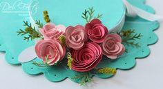 Lvoe the Easter bonnet idea. Easter Projects, Easter Crafts, Crafts For Kids, Easter Eggs, Easter Bonnets, Easter Parade, Cardboard Crafts, Egg Decorating, Flower Crafts