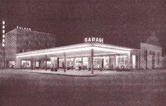 1930er-Jahre: Eulachgarage mit Tankstelle