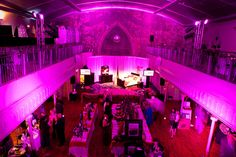 For the sixth annual Pink Bedroom Party, Jeanne Lottie moved the fund-raiser to the Berkeley Church and changed its format. Fundraising, Bedroom, Party, Pink, Rose, Bedrooms, Fiesta Party, Parties, Master Bedrooms