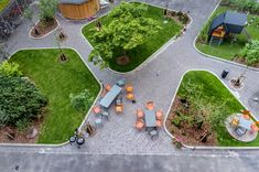 Nørrebrohus by VEGA landskab « Landscape Architecture Works Contemporary Landscape, Urban Landscape, Contemporary Decor, Landscape Plaza, Contemporary Stairs, Contemporary Cottage, Contemporary Apartment, Contemporary Chandelier, Contemporary Architecture