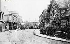 Northenden Old Village 1912.