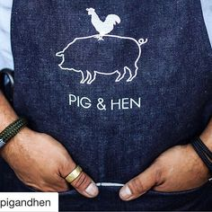 "rwithaview: ""Check out our friends at Besides the best men's bracelets and killer denimaprons made from Selvage.lab fabric ・・・ Pig&Hen is for real men that value craftsmanship in their accessories Denim Aprons, Estilo Denim, Stand Tall, Real Men, A Good Man, Lab, Cool Stuff, Friends, Bracelets"