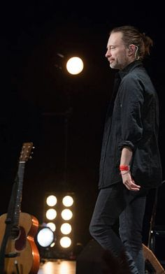 Thom Yorke - #Radiohead Pathway to Paris at Le Trianon on December 4, 2015 in Paris, France.