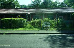 20140831【第四天:又見白色鐵椅】 好喜歡中興新村的環境和風景 ~
