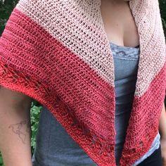 Herbal Sunrise Shawl Crochet Pattern