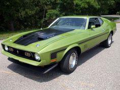 Ford Mustang Mach1 351CJ 1972