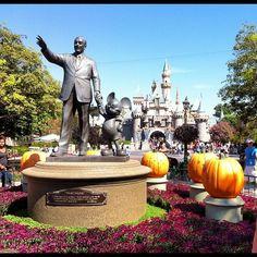 Partners & Halloween Time  (Taken with Instagram at Disneyland Park)