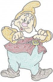 Happy uitpriksjabloon Types Of Embroidery, Paper Embroidery, Beaded Embroidery, String Art Templates, String Art Patterns, Snow White Coloring Pages, Bobble Crochet, Tulip Painting, Rhinestone Art