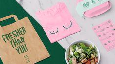 Provincia - Estudio Creativo Salad Packaging, Cake Packaging, Brand Packaging, Packaging Design, Branding Design, Tienda Natural, Food Branding, Branding Ideas, Article Design