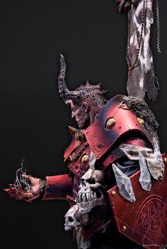 Sha'Ael the soul trader. by Alfonso Giraldes_Banshee · Putty&Paint Warhammer Fantasy, Warhammer 40k, Angle And Demon, Chaos Theory, Fantasy Figures, Fantasy Miniatures, Crusaders, Fantastic Art, Scale Model