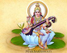 Vivi Devi Dasi: Yoga y Danza con Amor Lord Saraswati, Saraswati Photo, Saraswati Mata, Saraswati Goddess, Durga Maa, Maa Wallpaper, Krishna Wallpaper, Indiana, Hanuman Chalisa