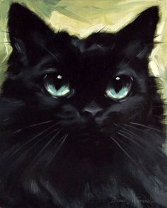 Paintings From the Parlor: The Lovely Annabelle - A Custom Cat ...