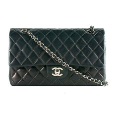 Chanel Classic 2.55 Quilted Lambskin Medium Double Flap Shoulder... found on Polyvore