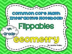 Student Interactive Math Notebook for 4th Grade Common Core