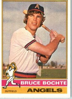 1976 Topps #637 Bruce Bochte California Angels Baseball Card In a Protective Screwdown Display Case by Topps. $2.95. 1976 Topps #637 Bruce Bochte California Angels Baseball Card In a Protective Screwdown Display Case