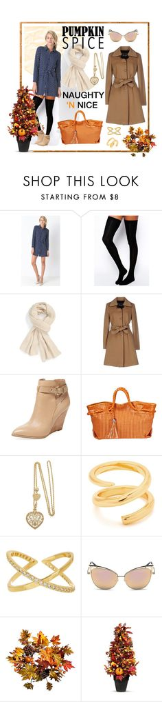"""""""Fall Coffee Date Wear!"""" by thepocketshop ❤ liked on Polyvore featuring ASOS, Caslon, CristinaEffe, Seychelles, Furla, Gorjana, Improvements, Fall, coffee and thepocketshop"""