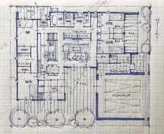石川 元洋さんはInstagramを利用しています:「・ 65坪5人家族の平家 ・ キッチンに立つ奥様が全てを見渡せるように ・ #手描き#マイホーム計画#間取り#間取り図#間取りいろいろ#注文住宅#建築#住宅#家#マイホーム#暮らしを楽しむ#インテリアデザイン#インテリア#マイホーム記録…」 Architecture Concept Drawings, Japanese Architecture, Architecture Plan, Architecture Details, Architectural Floor Plans, Schematic Design, Plan Sketch, Container Architecture, Ishikawa