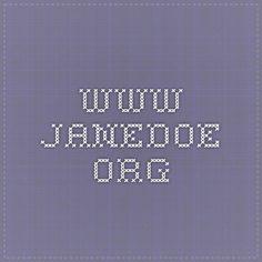 www.janedoe.org