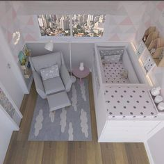 Best and Inspiring Nursery Room Ideas. Best and Inspiring Nursery Room. Looking forward to the birth of the baby is very pleasant indeed. In addition, when we start preparing everything fro. Baby Girl Nursery Room Ideas, Baby Bedroom, Baby Boy Rooms, Baby Room Decor, Girl Room, Girls Bedroom, Small Baby Nursery, Room Baby, Baby Room Design
