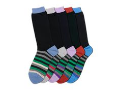 Business Socks, Mens, 5 pairs