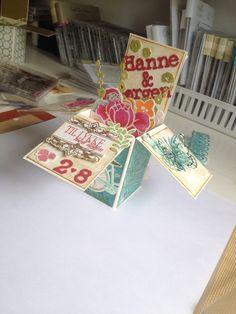 Bryllups box kort