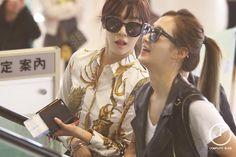 Tiffany Hwang Yuri SNSD airport fashion may 2014