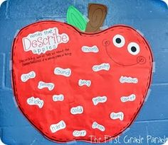The First Grade Parade: Apples Aplenty