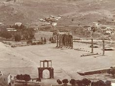 Athens, end of century . Athens History, Greece History, Time Pictures, Old Pictures, Old Photos, Athens Acropolis, Athens Greece, Places In Greece, Greece Photography
