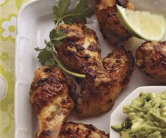 Lime-Marinated Chicken Wings