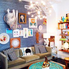 Jonathan Adler's office. Guha!
