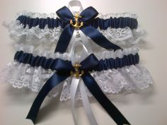 Beautiful Handmade Wedding Garter by banos0126 on Etsy. One to keep and one to throw!