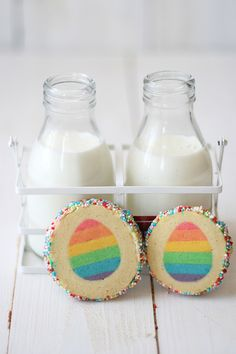 easter surprise inside vanilla cookies.