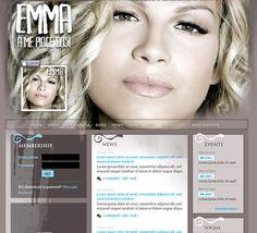 Emma Marrone, il sito Web