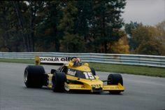 1978 Jean Pierre Jabouille Renault RS01 , Engine EF1 V6 Turbo