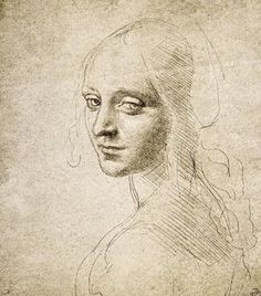 """Head of a Young Woman, study for the ""Virgin of the Rocks"" (c.1483-85).jpg"
